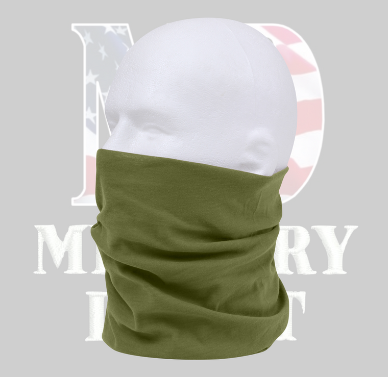Multi-Use Light Weight Neck Gaiter and Tactical Wrap