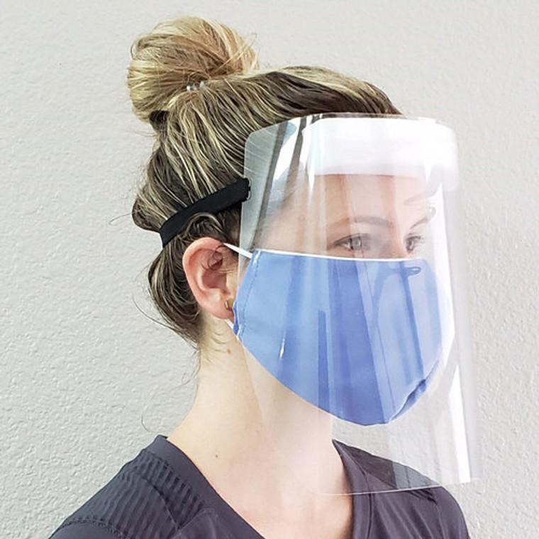 Full Visor Face Shield - 2 Pack