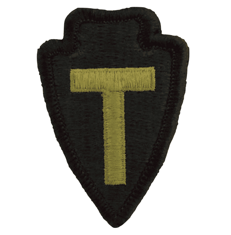 36th infantry division Texas army national guard patch in coyote for the scorpion ocp uniform or multicam uniform.