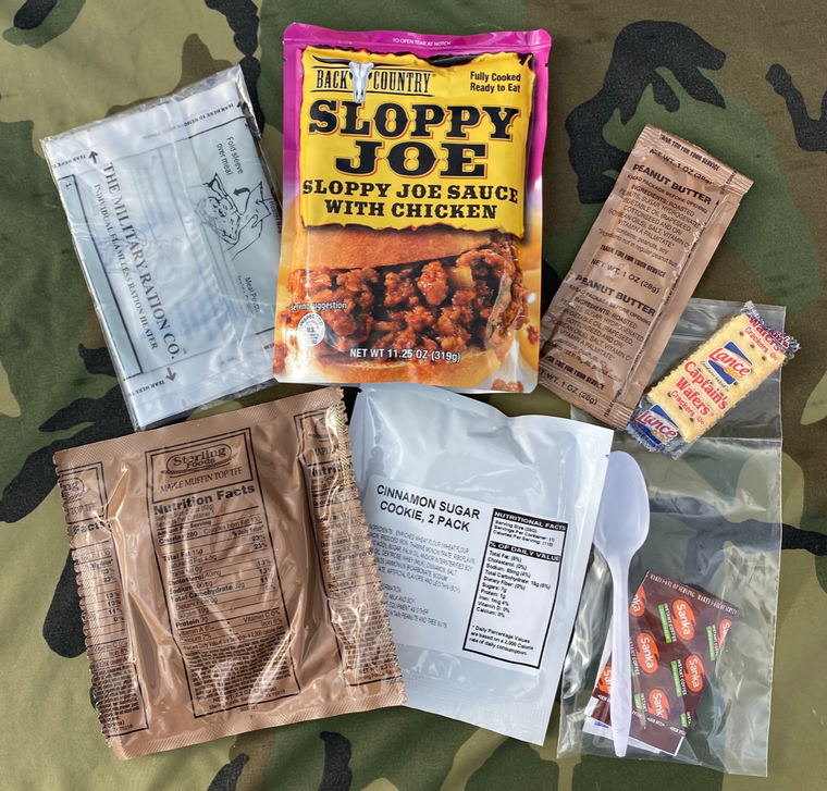 MRE Single Rations