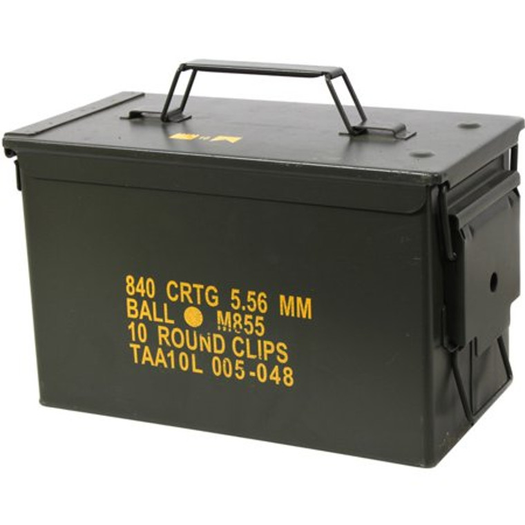 .50 Cal. Metal Ammo Can - US Military Issued M2A1 - New