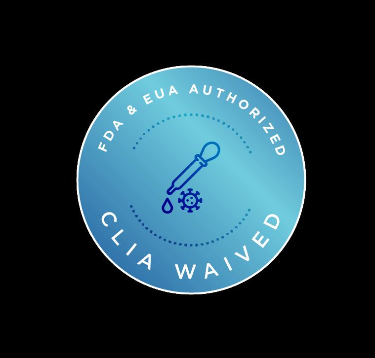 FDA EUA + CLIA Waived