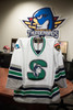 Springfield Indians White Authentic Jersey