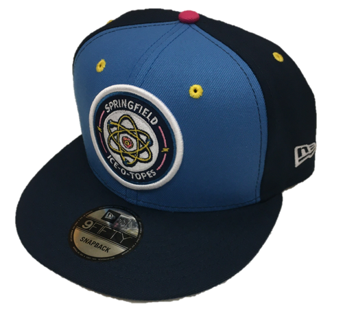 Springfield Ice-O-Topes New Era 9Fifty Snapback - Air Force Blue/Navy