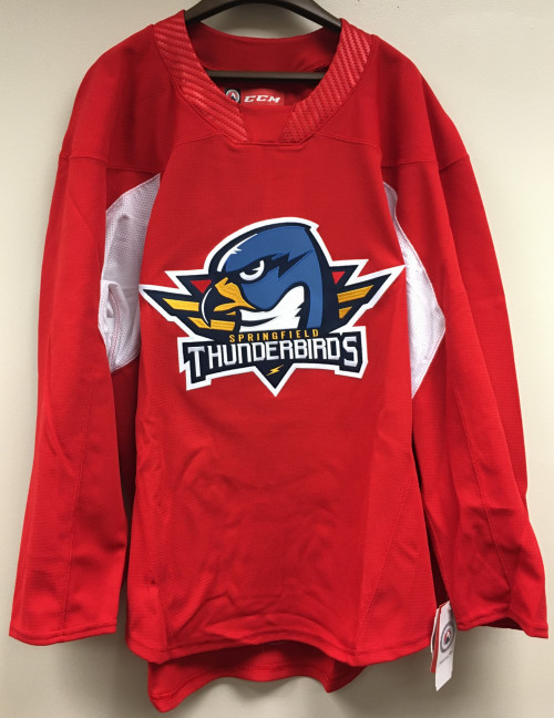 T-Birds Authentic Practice Jersey - Red (NEW)