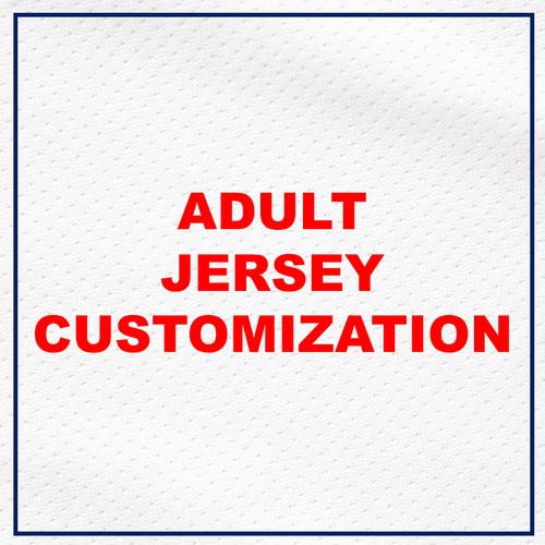 ADULT Jersey Customization