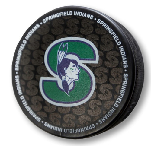 Puck - Springfield Indians (Whalers)