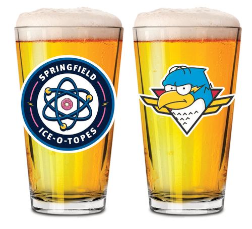 Ice-O-Topes Pint Glass