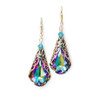 Crystal Teardrop Earrings adorned with Crystal from Swarovski