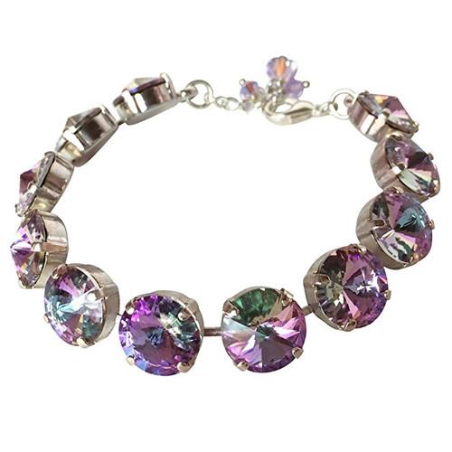 Vitrail Light Crystal Rivoli Bracelet Jewelry for Women