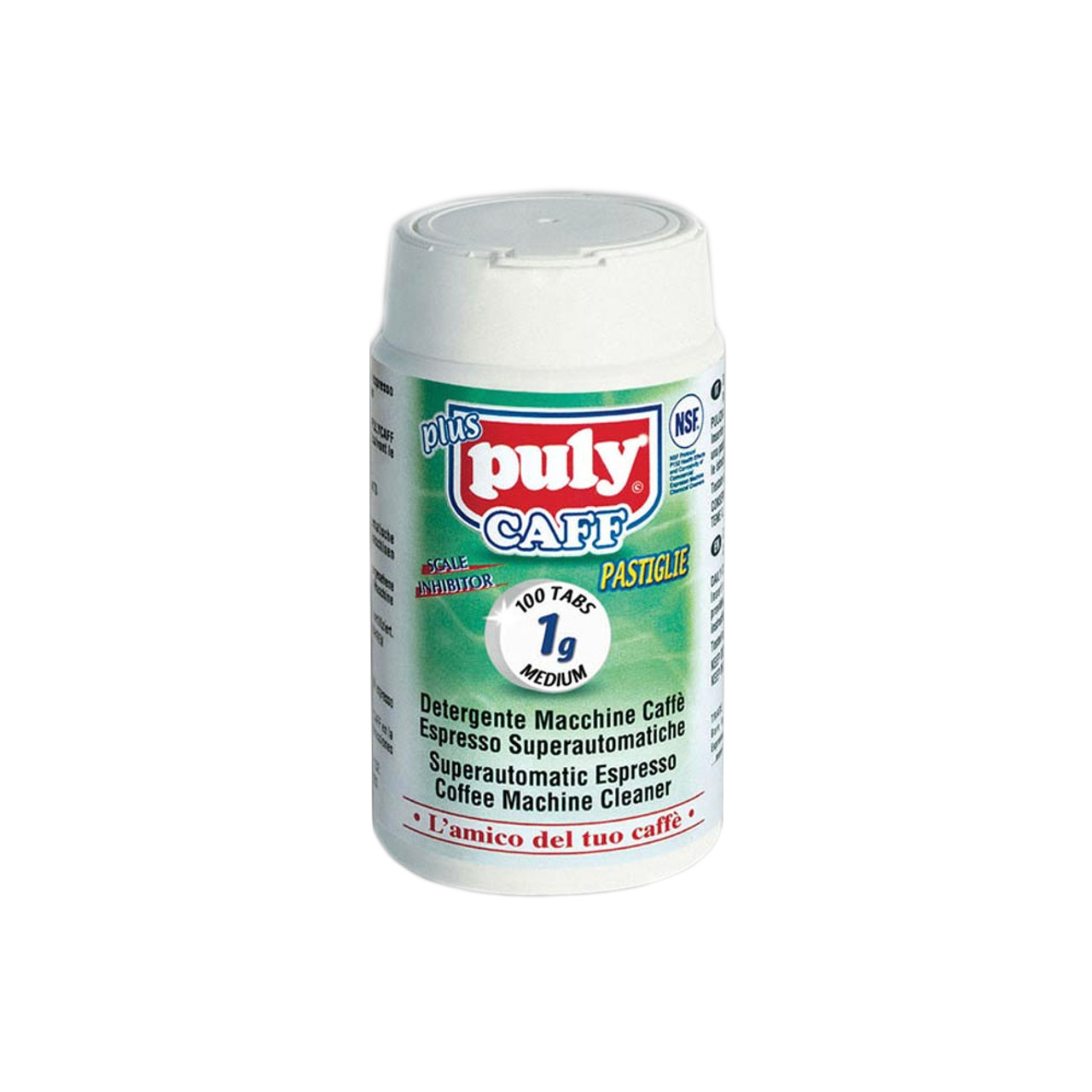 Puly Caff Bean To Cup Cleaning Tablets 100 X 1g Ccbarista