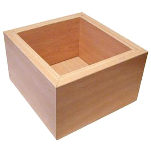 Wood Finish Knockout Box.  Fits open knock out box/bar (not included)