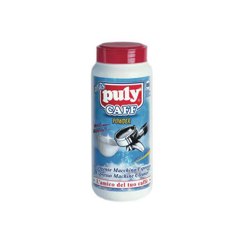 Puly Caff is the heavy duty, fast dissolving cleaning powder product used for back-flushing the Group Heads on coffee machines