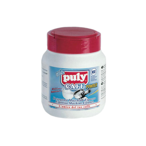 Puly Caff is a heavy duty, fast dissolving cleaning powder product used for backflushing the Group Heads on coffee machines