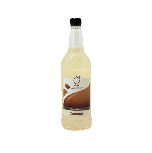 Sweetbird Coconut Syrup 1 Litre - Lovely with Hot and Cold Milk Drinks!