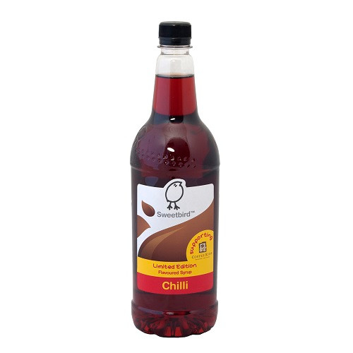 Sweetbird Chilli Syrup has a nice warmth and a little kick!