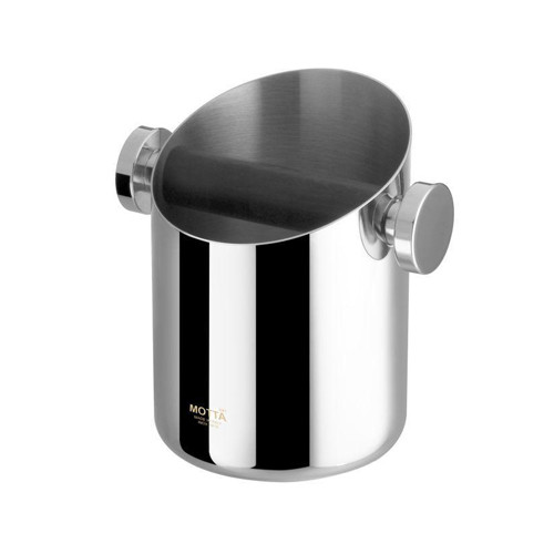 Motta Domestic Knock Box in Stainless Steel Finish