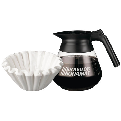 Bravilor Bonamat Filter Coffee Jug & Filter Papers (pack of 100)