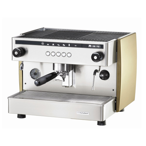 The coffee dose is controlled by an electronic system that automatically regulates the volume of water used. Four different coffee doses can be programmed on each brew head, as well continuous brewing.