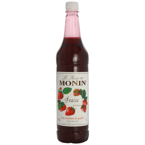 MONIN Strawberry syrup was one of the first fruit flavours developed in the syrup range! A popular flavour in France, strawberry syrup can also be added to water, green mint and lemonade to make a Strawberry Diabolo.