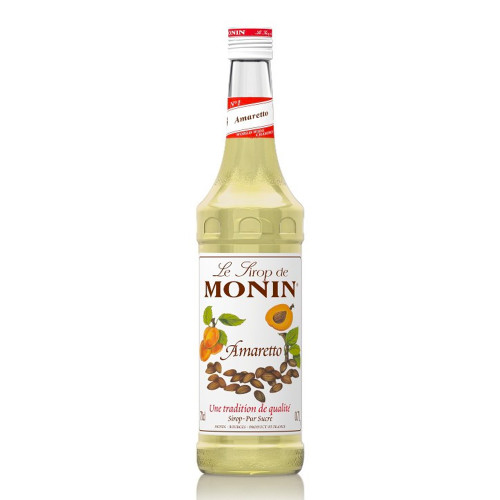 MONIN Amaretto delivers the bittersweet taste of the popular liqueur and can be used to create a luxurious Italian themed desserts and after-dinner drinks.