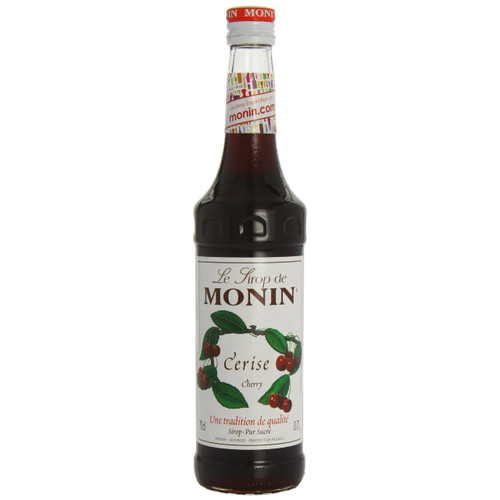 "Ripe cherry flavour is present in MONIN Cherry syrup. Try something different and mix it with cola or put our cherry delight in your ""Singapore Sling"" and you will create drinks with a perfect cherry hint!"