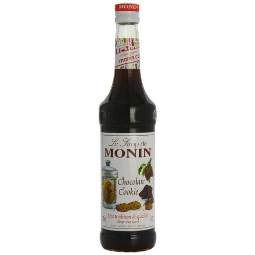 MONIN Chocolate Chip Cookie syrup has the perfect biscuit taste that will add a gourmet touch to your drinks.