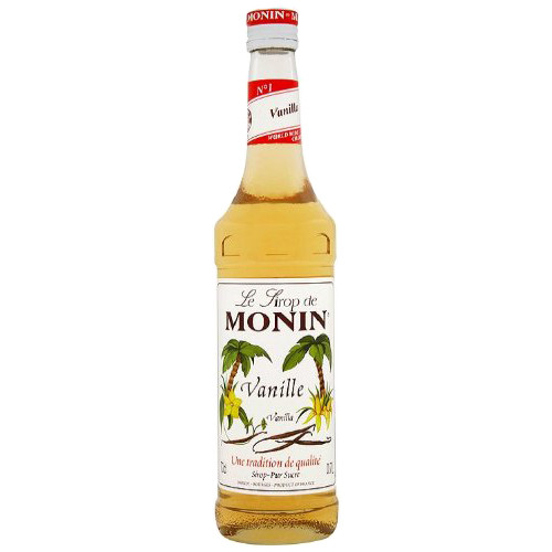 MONIN Vanilla syrup has an exquisite, premium flavour, which is no doubt the reason why it is one of the top three coffee flavours!