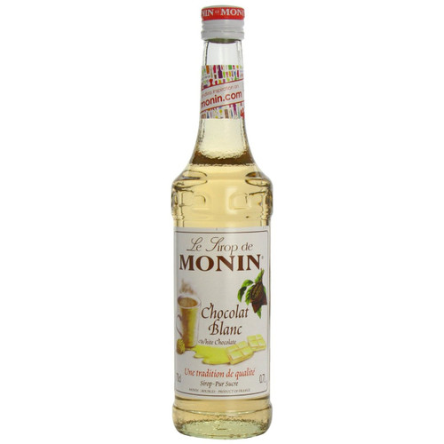 With MONIN White Chocolate syrup let your imagination run free, from coffee beverages to dessert drinks.