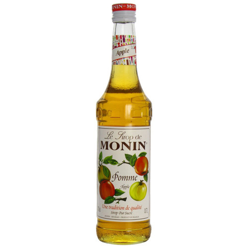 Based on the flavour of the sweet apple, MONIN Yellow Apple syrup can also be used in milk-based drinks.