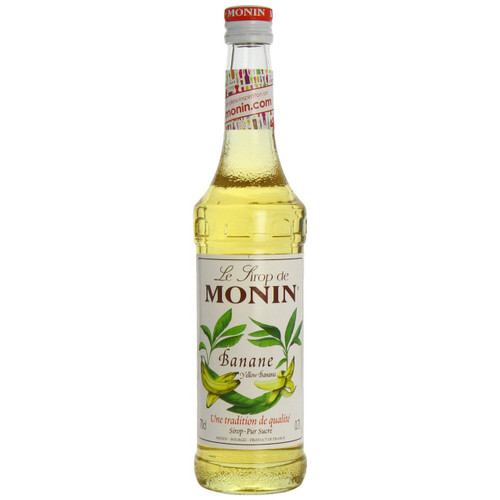 Go bananas and add the strong ripe banana nose and velvety sweet flamb̩ of MONIN Yellow Banana to an array of drinks and desserts!