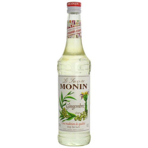 MONIN Premium Syrup Ginger 70cl - Great for Teas and Cocktails!