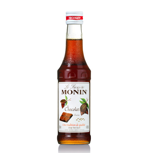 With MONIN Chocolate syrup, you can create indulgent chocolate martinis and negronis, as well as soothing hot drinks!