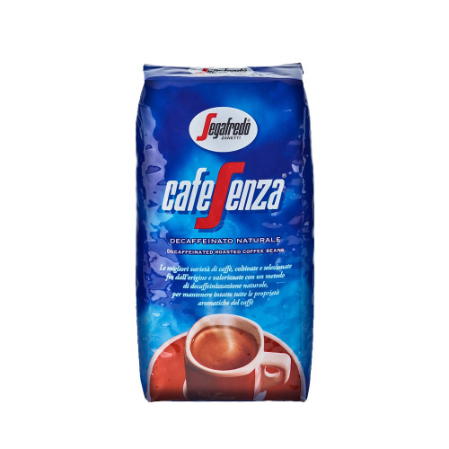 Segafredo Zanetti offers CafeSenza to those who are particularly sensitive to caffeine but dont want to give up the pleasure of a very good coffee.
