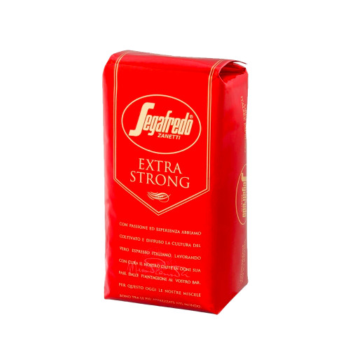 A blend of Brasilia Arabica and Robusta with intense toasted-bread and chocolate features. Case of 8x1kg bags