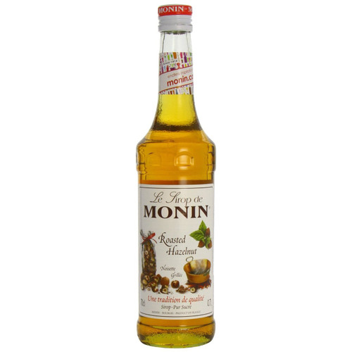 Building on the popularity of MONIN Hazelnut in speciality coffees, MONIN Roasted Hazelnut was developed to deliver a more powerful hazelnut flavour to complement even the strongest coffee!