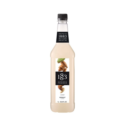 With a deliciously rich orgeat flavour, 1883 Maison Routin ALMOND Syrup can be used in various alcoholic and non-alcoholic drinks.