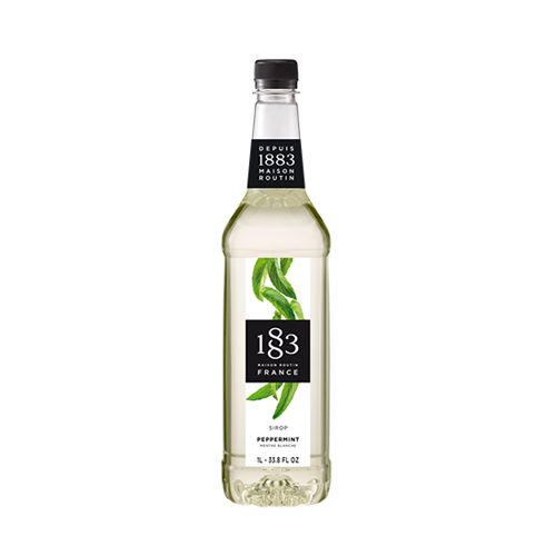 1883 Maison Routin Peppermint Syrup 1 Litre - A cool and refreshing syrup