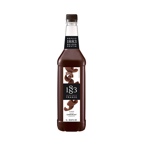 1883 Maison Routin Chocolate Syrup 1 Litre - Great to add to all of your favourite drinks.