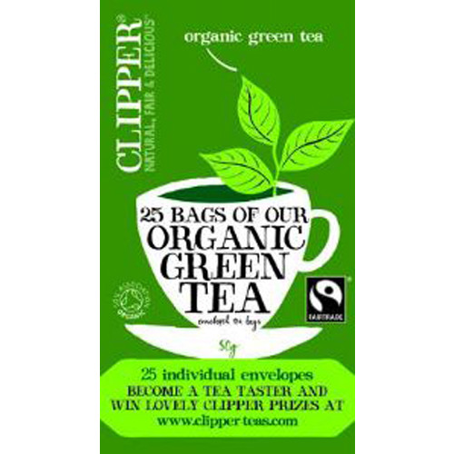 Clipper's first and best selling Green Tea, blended to be deliciously light, refreshing & clean-tasting. A natural source of antioxidants.