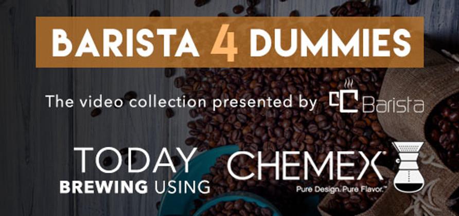 Barista 4 Dummies: Brewing with Chemex