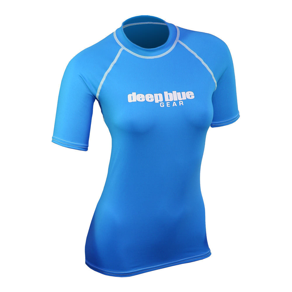 Women's Short Sleeve Rashguard by Deep Blue Gear