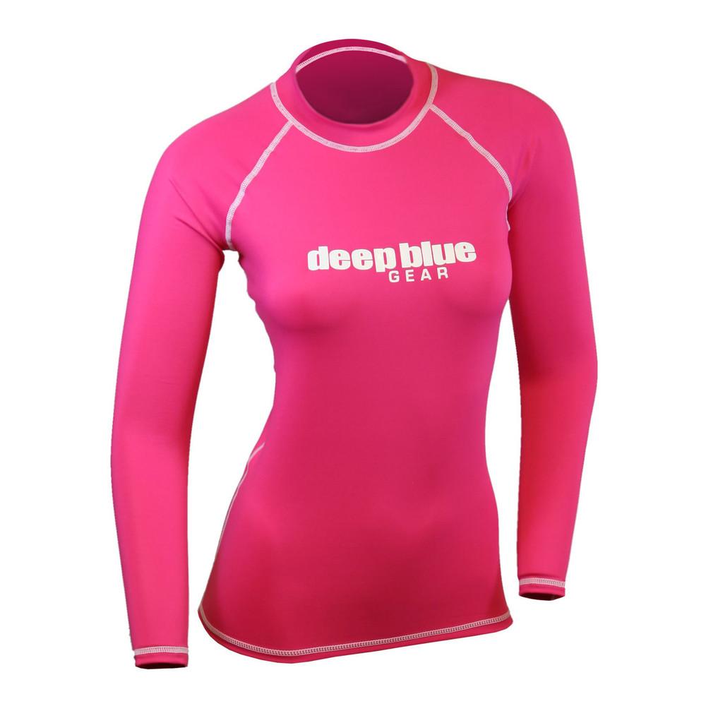 Women's Long Sleeve Rashguard by Deep Blue Gear