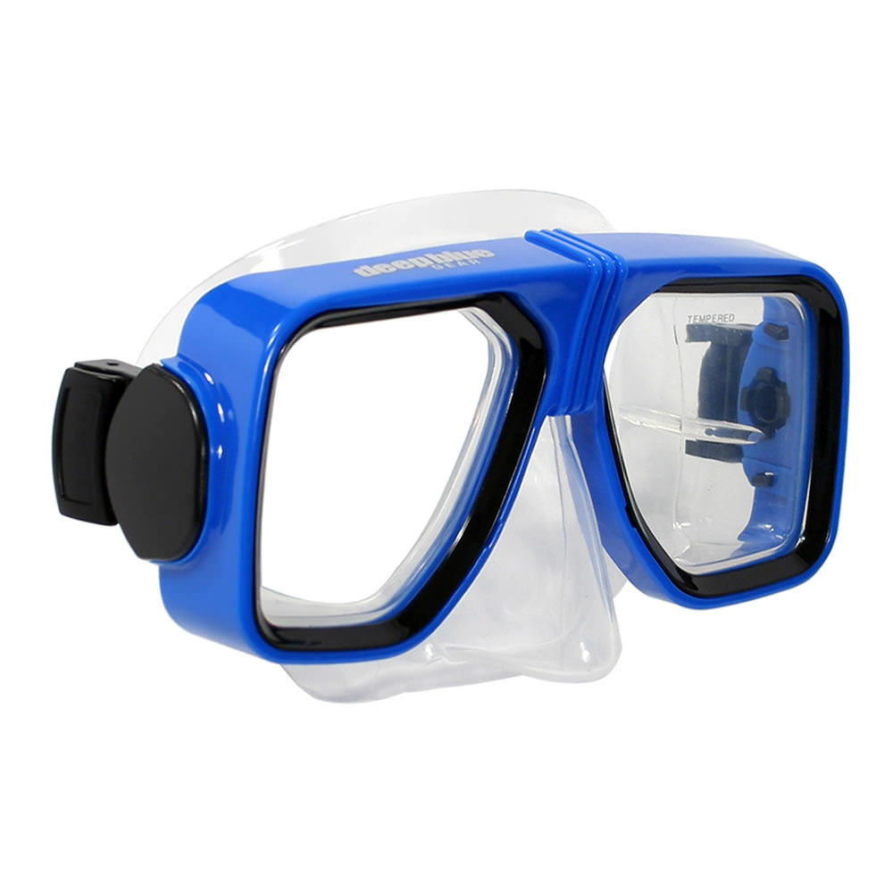 Spirit 2 - Prescription Diving/Snorkeling Mask by Deep Blue Gear