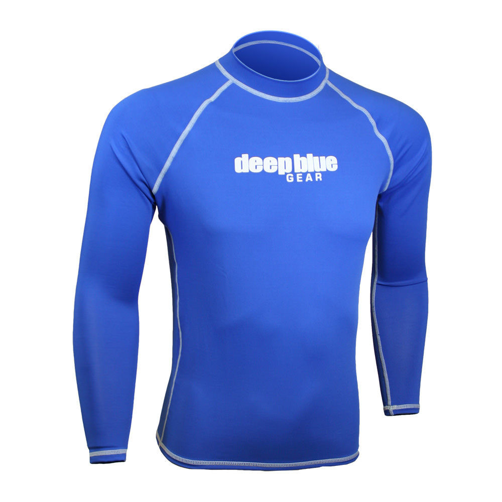 Men's Long Sleeve Rashguard by Deep Blue Gear