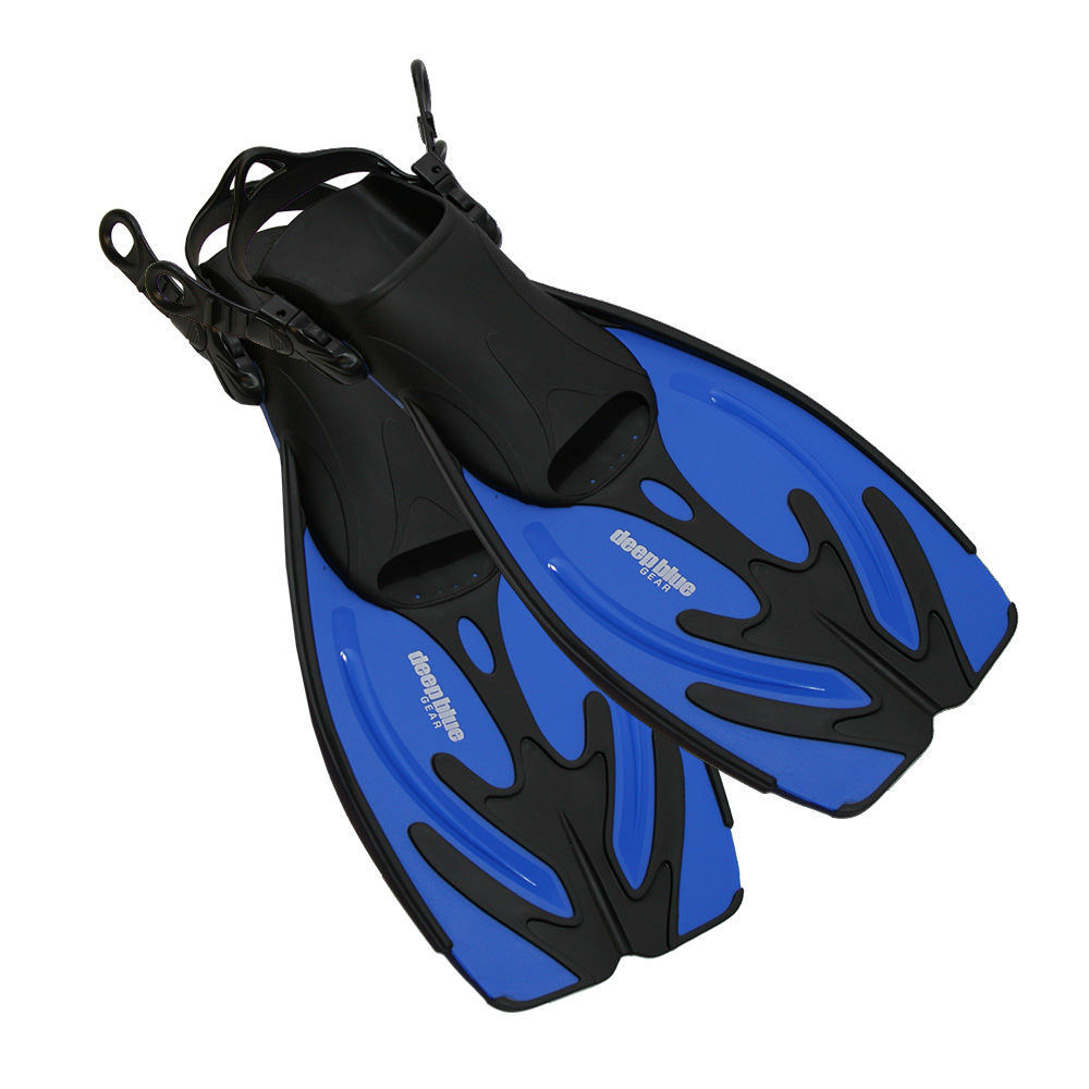 Current - Kid's Adjustable Snorkeling Fins by Deep Blue Gear