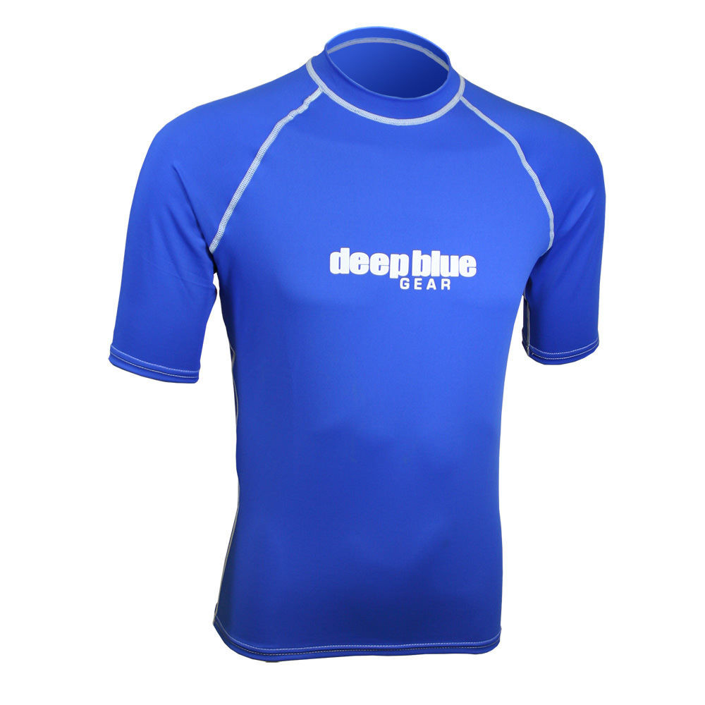 Men's Short Sleeve Rashguard by Deep Blue Gear