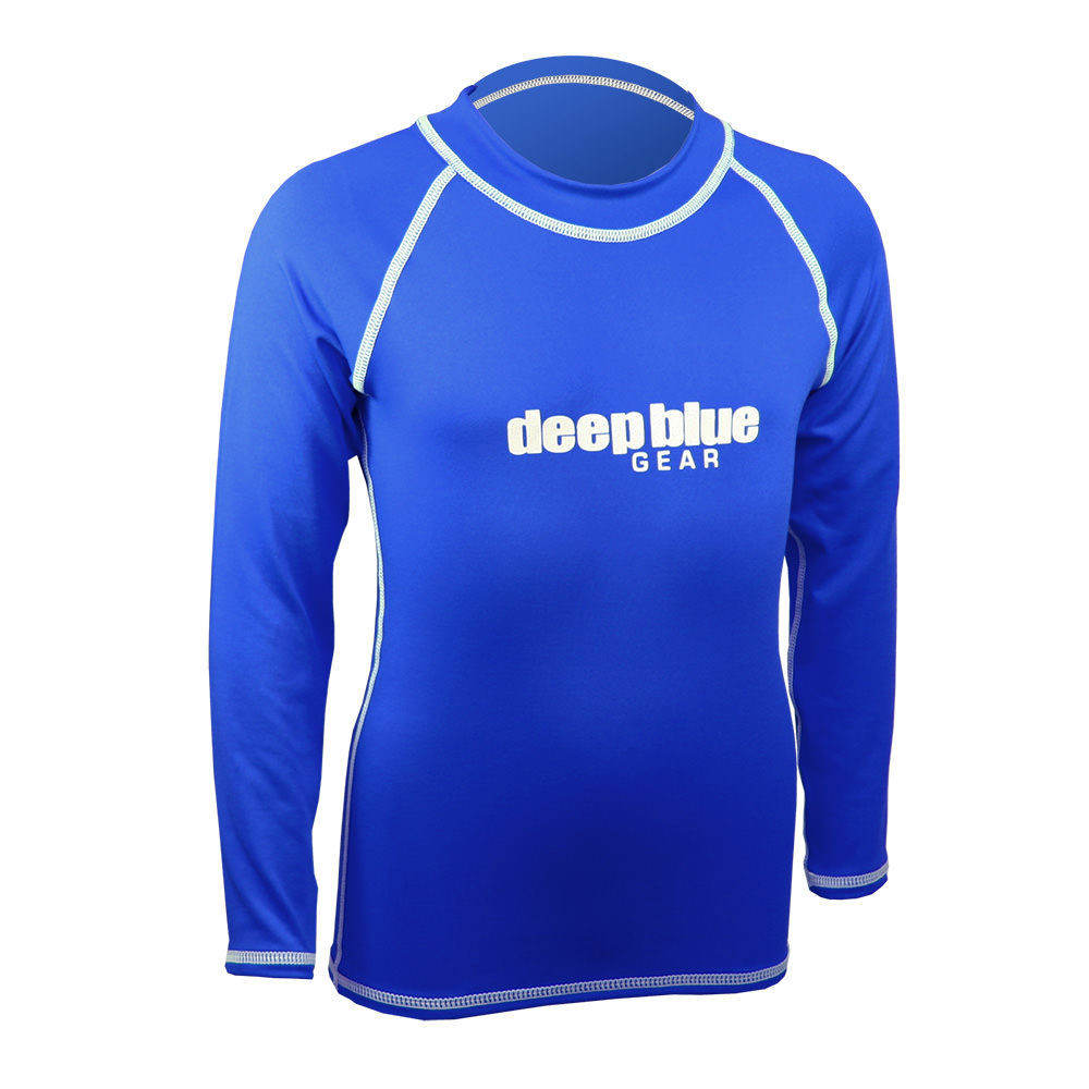 Kids Long Sleeve Rashguard by Deep Blue Gear