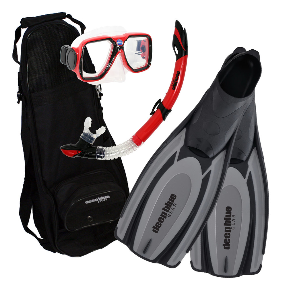 Explorer - Adult Snorkeling Set by Deep Blue Gear
