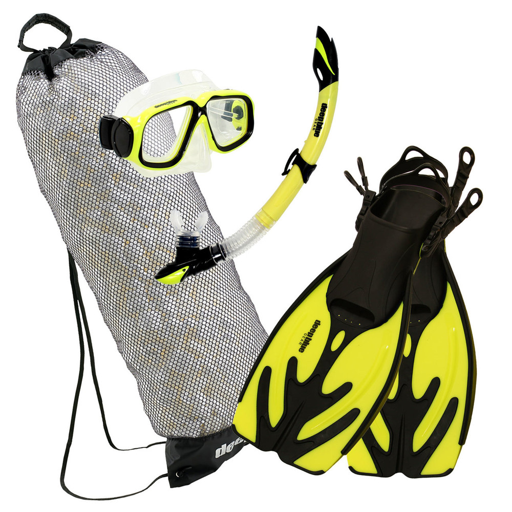 Maui Junior - Kid's Snorkeling Set by Deep Blue Gear